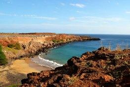 Praia cliffs.